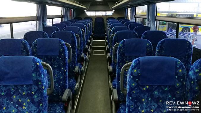 Keisei Bus passenger seat