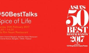 บรรยากาศก่อนงานระดับโลก Asia's 50 Best Restaurants 2017 กับงาน Asia 50 Best Talk