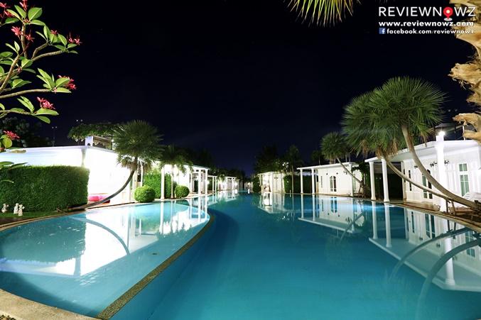 The Sea-Cret Garden Hua Hin Pool Night