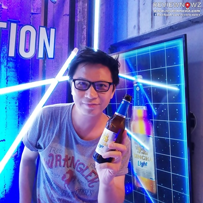 DO with New Singha Light
