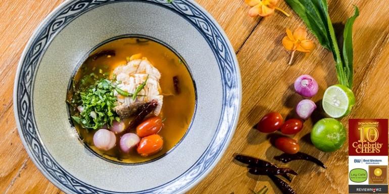 Cooking with 10 Celebrity Chefs – เมนูที่ 4 กับเชฟ หนุ่ม เชฟกระทะเหล็กประเทศไทย