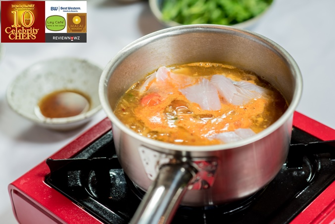 ต้มโคล้งปลากรอบ - น้ำซุป 5