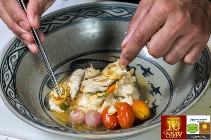 ต้มโคล้งปลากรอบ - จัดจาน 2