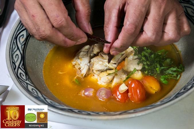 ต้มโคล้งปลากรอบ - จัดจาน 3