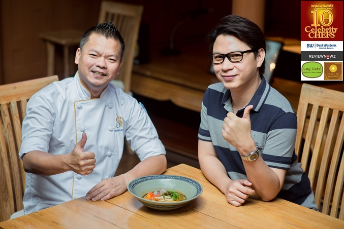 Cooking with 10 Celebrity Chefs : Chef Noom, Iron Chef