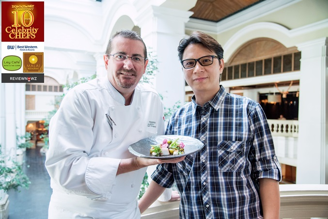 Cooking with 10 Celebrity Chefs : Chef Mark Hagenbach, Executive Chef, Grand Hyatt Erawan Bangkok