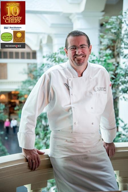 Chef Mark, Executive Chef, Grand Hyatt Erawan Bangkok