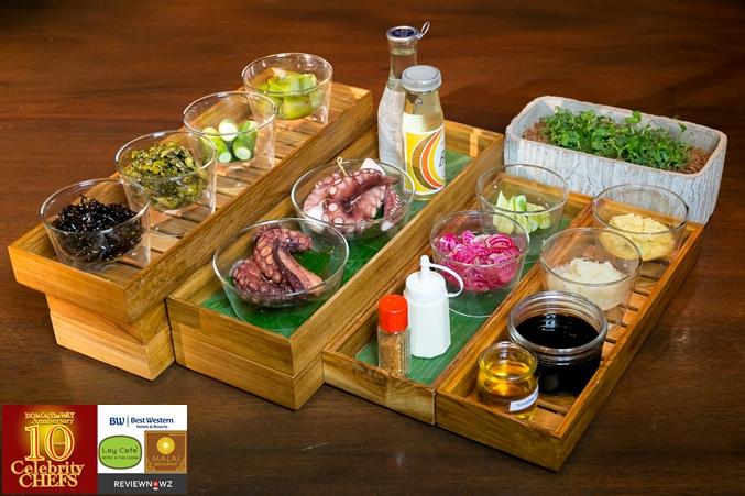 Braised Octopus Salad - Ingredient