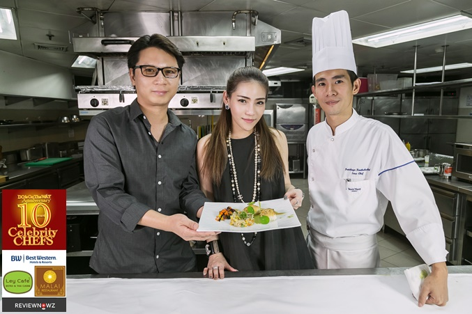 Cooking with 10 Celebrity Chefs : Chef ปรัช, Sous Chef 22 Kitchen & Bar, Dusit Thani Bangkok