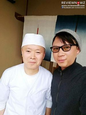 Chef Shigeru Wakatsuki - Azumino Okina