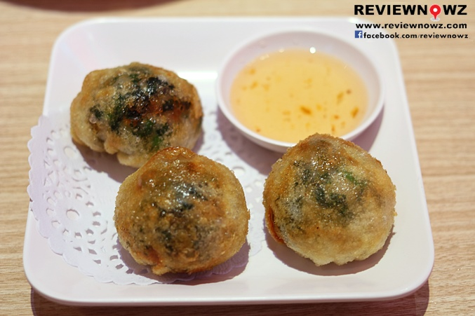 Fried Rice Cake Stuffed with Chinese Chives