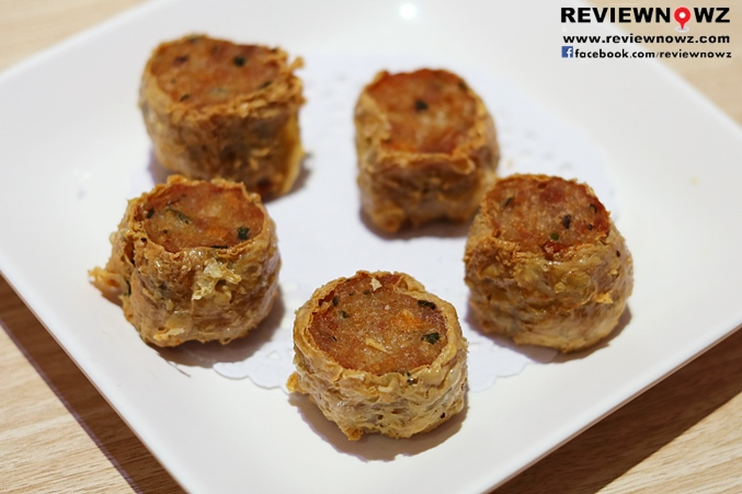 Deep-FriedTofu Skin Rolls with Crab Meats