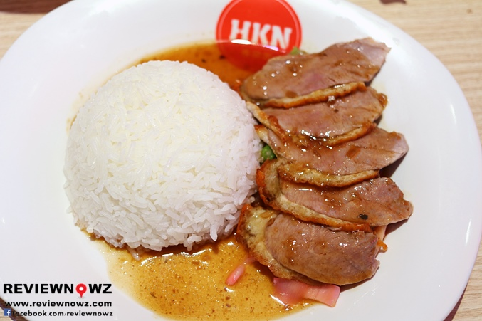 HK Roasted Duck Over Rice