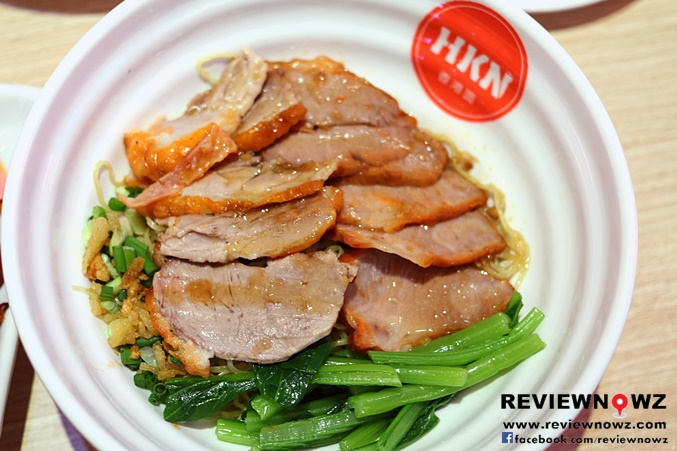 Egg Noodle with HK Roasted Duck and BBQ Pork