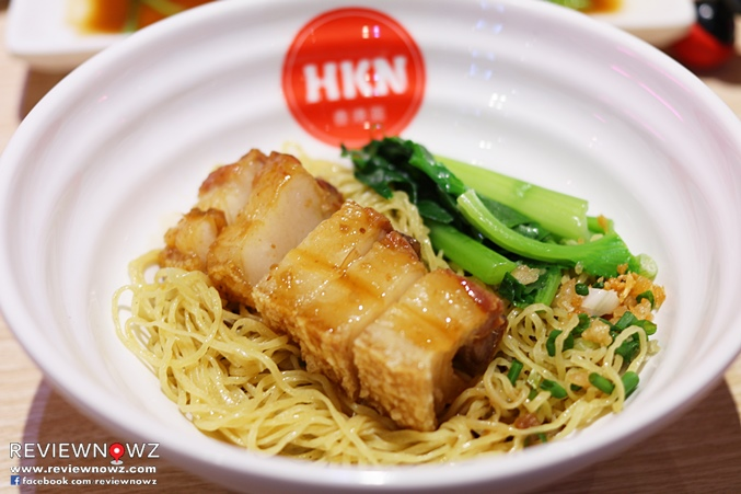 Noodle with Crispy Pork