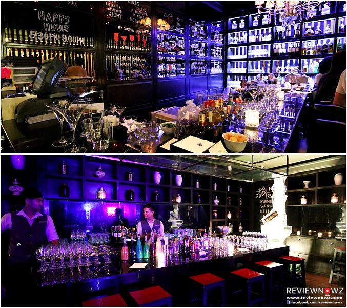 Counter Bar : Manhattan Bar