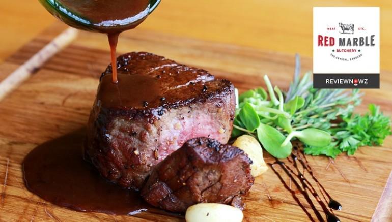 สวรรค์ของคนรักเนื้อกับความอร่อยแบบตามใจฉันที่ Red Marble Butchery เลียบด่วน