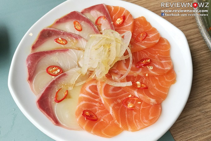 Hamachi Salmon Jirafino