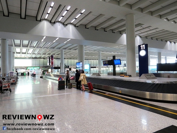Chek lap Kok International Airport : Baggage Claim