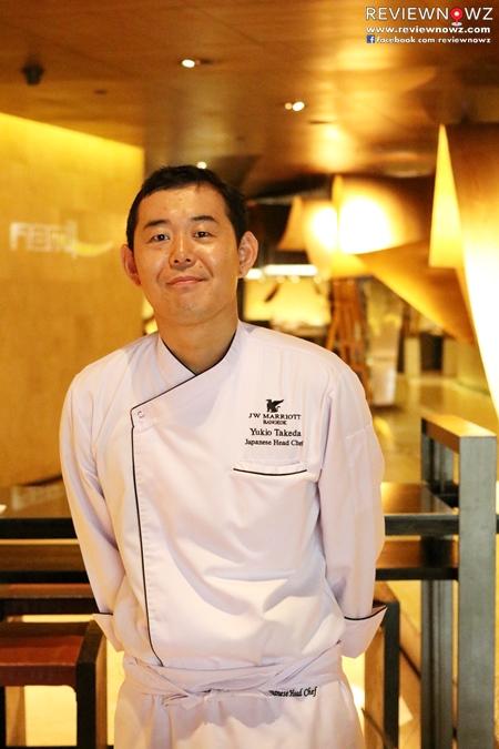 JW Marriott Tsu Nami New Chef Yukio Takeda 2