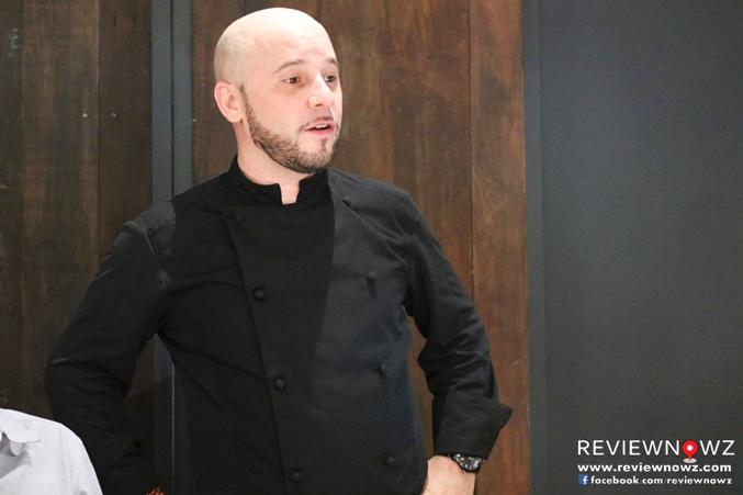 French Chef Julien Lavigne