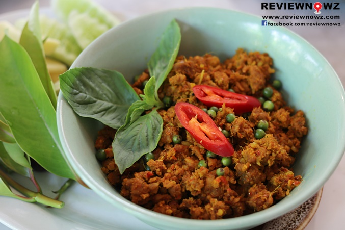 Minced Pork with Spicy Curry Paste