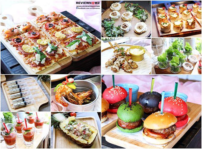 Westin Hangover Brunch : Food