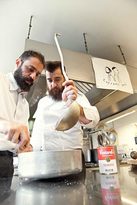 Chef Christian & Chef Manuel Costardi