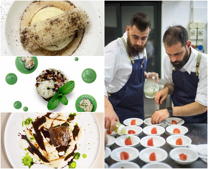 Chef Christian & Chef Manuel Costardi's Dishes