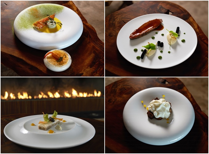 Chef Miguel Laffan's Dishes