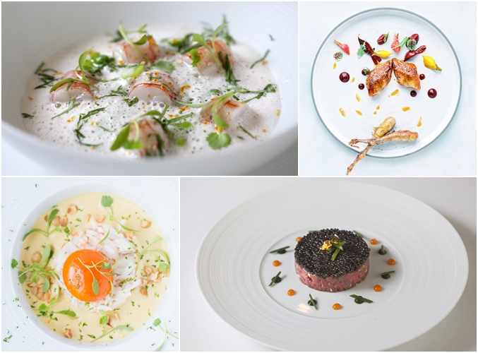 Chef Guillaume Galliot's Dishes