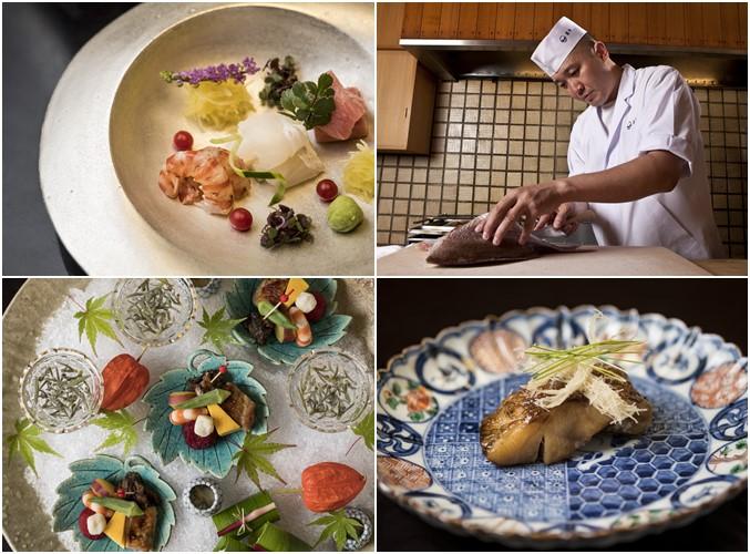 Chef Shinichiro Takagi's Dishes