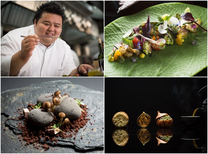 Chef Jason Tan's Dishes