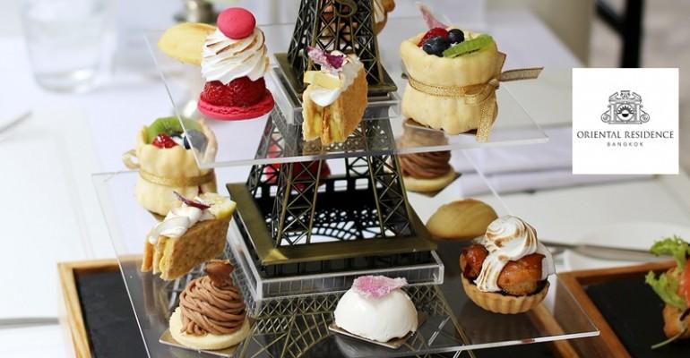 จิบน้ำชายามบ่ายกับโปร.สุดคุ้มล่าสุด Voyage à Paris Afternoon Tea set ที่ Café Cafe Claire, Oriental Residence