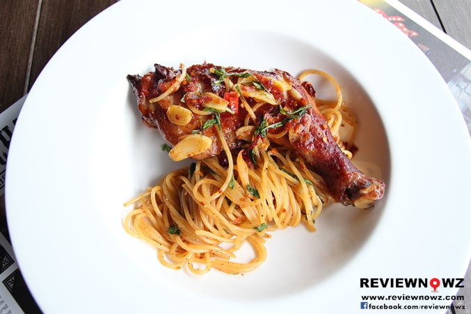 Spaghetti Roasted Chicken
