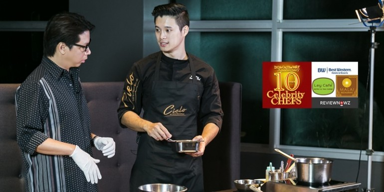 Cooking with 10 Celebrity Chefs – เมนูที่ 8 กับ Chef Ping, Cielo Sky Bar & Restaurant