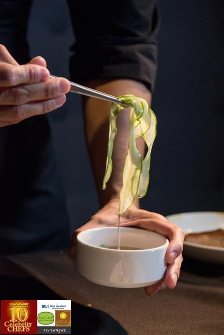 Spare Ribs Satay - Cucumber Relish