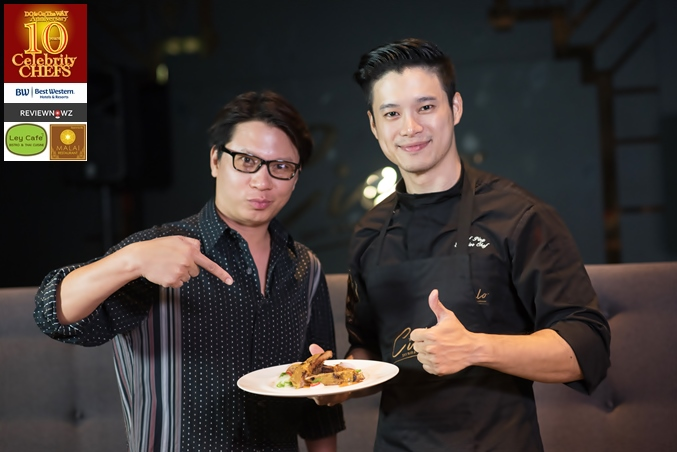 Cooking with 10 Celebrity Chefs : Chef Ping, Cielo Sky Bar & Restaurant