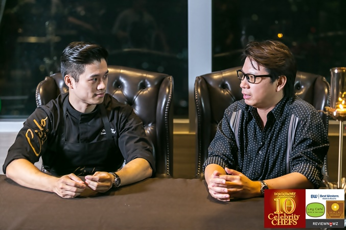 Cooking with 10 Celebrity Chefs - Chef Ping
