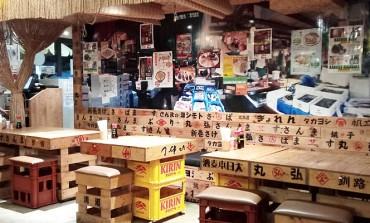เก็บโปร.ส่วนลดเบียร์สด Sapporo 50% หลังเที่ยงคืนที่ Kaki Goya Thonglor