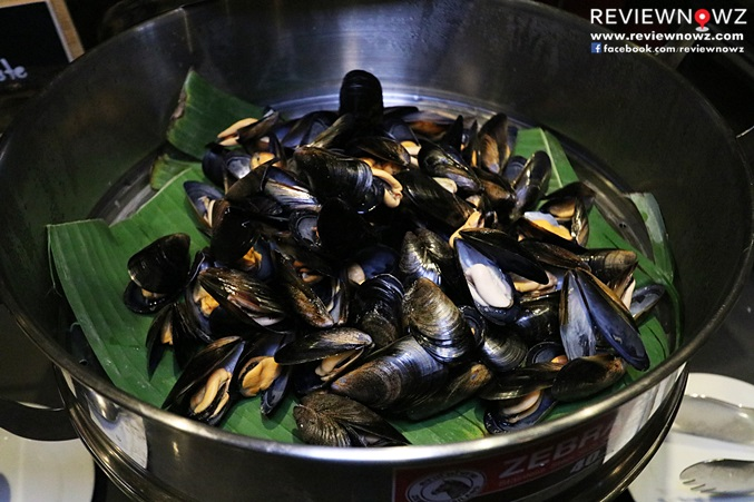 Steamed Blue mussel