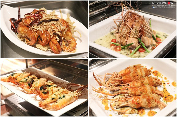 Prawns Cooked Dishes