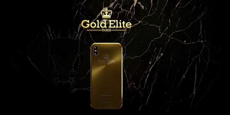 Gold Elite iPhone X เอกลักษณ์ระดับบุคคลที่เพิ่มความเอ็กซ์คลูซีพให้กับผู้ครอบครอง