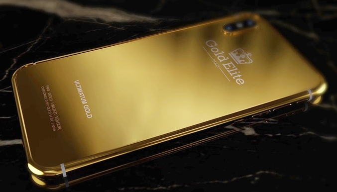 Gold Elite iPhone X