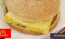 """เมนูใหม่ล่าสุดของ McDonalds กับ """"ปังไข่ชีส"""" และก่อนใครกับ """"ไอศกรีมราดซอสมันม่วง"""""""