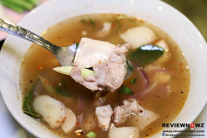 Thai E san spicy soup