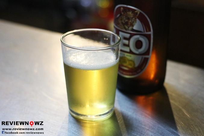 Leo beer @ Fah Mui Restaurant