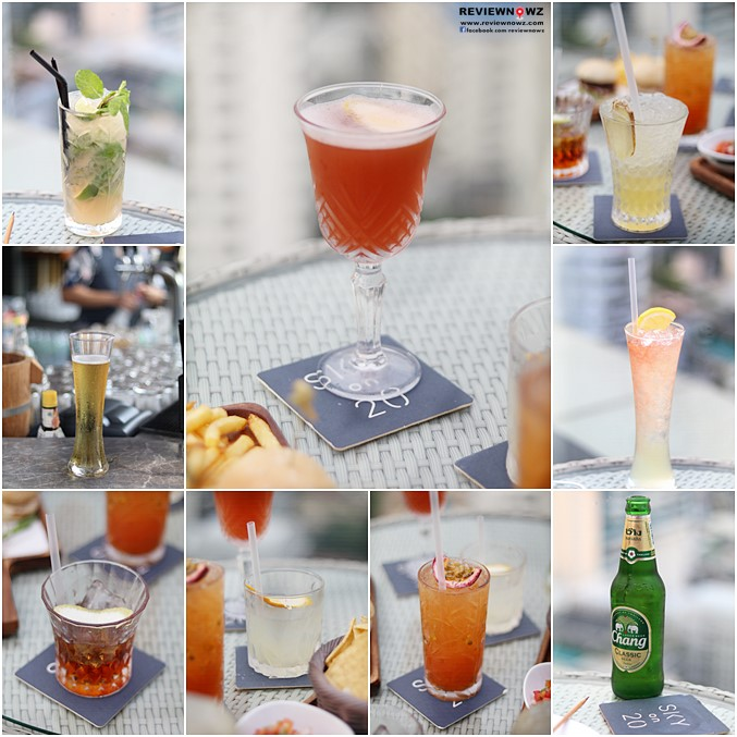 Sky on 20 Rooftop Event - DRINKS