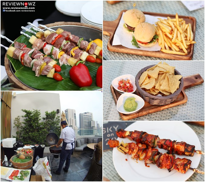 Sky on 20 Rooftop Event - FOOD
