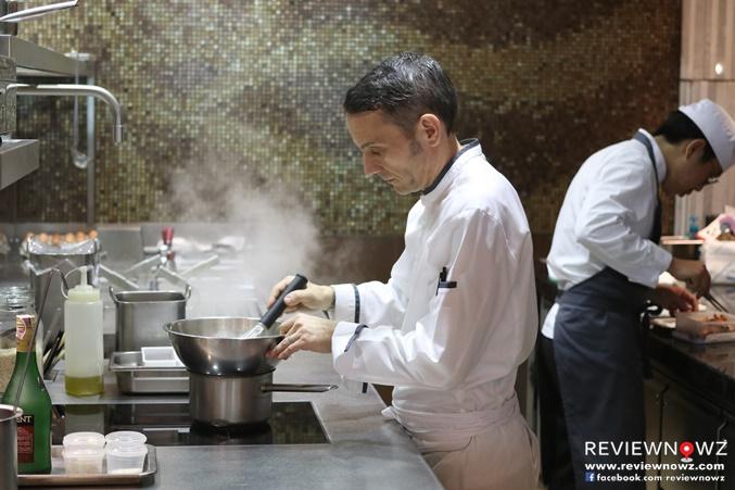 Chef David Tamburini